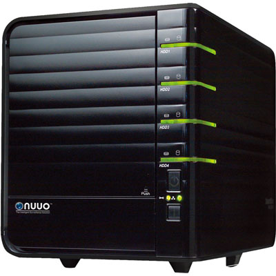 NUUO NV-2040 NVR surveillance recording system that supports both IP and analog cameras