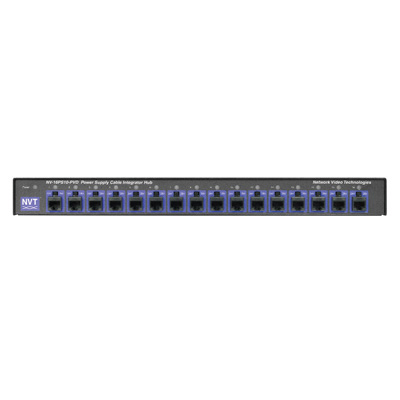 NVT NV-16PS10-PVD 16-channel power supply cable integrator hub
