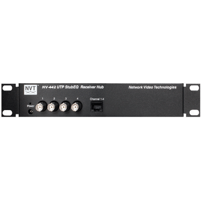 NVT Introduces the NV-442 4-Channel Stub EQ Active Receiver Hub