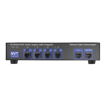 NVT NV-4PS10-PVD 4-channel power supply cable integrator hub