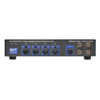 NVT NV-4PS13-PVD 4-channel power supply passive receiver hub