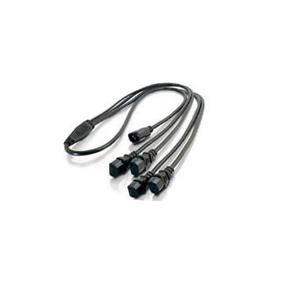 NVT NV-DPSC4 detachable power supply cord splitter