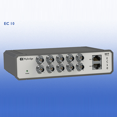 NVT NV-EC10-5 fast Ethernet and PoE + over coax cable