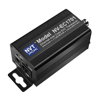 NVT Ethernet Over Coax EoC Transceiver