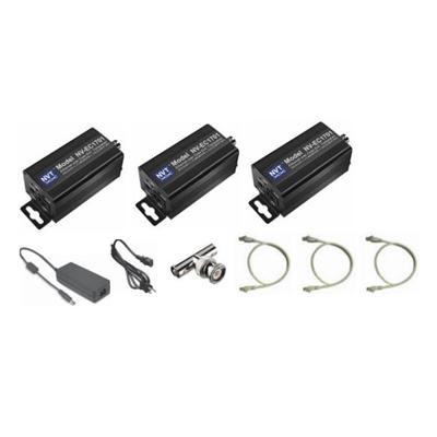 NVT NV-EC1701-K2H dual camera EoC transmission system kit