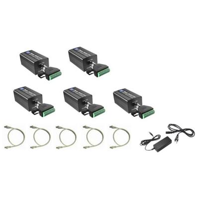 NVT NV-EC1701U-K4H quadruple device Eo2 transmission system kit