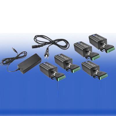 NVT NV-EC1701U-KIT4 is a quadruple device ethernet over 2-wire Eo2 transmission system