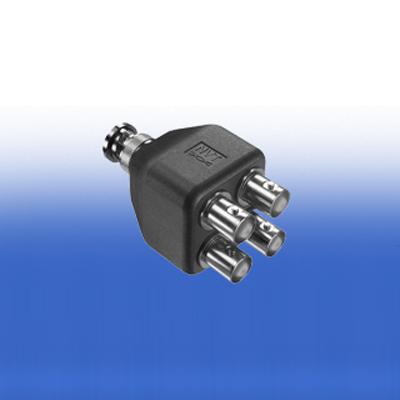 NVT NV-EC4BNC coax splitter adaptor