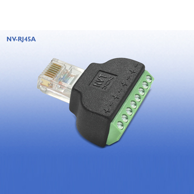 NVT NV-RJ45A RJ45 To Screw Terminal Adaptor