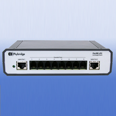 NVT PL-08 8 port unmanaged switch