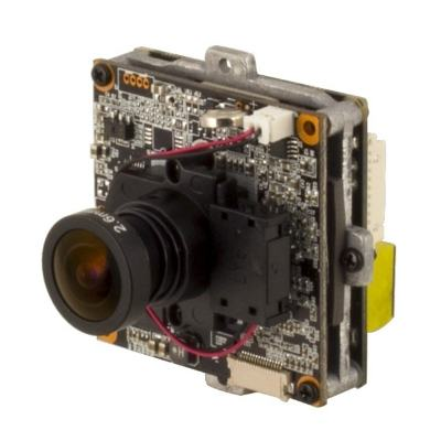 Eneo NXP-880F26 Network Board Camera, 1920x1080, Day&Night, 2,6mm, D-WDR, PoE, 12V