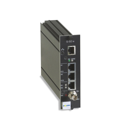 Optelecom-NKF's Siqura® S-60, New Cost-Effective and Future-Proof H.264 Video Server