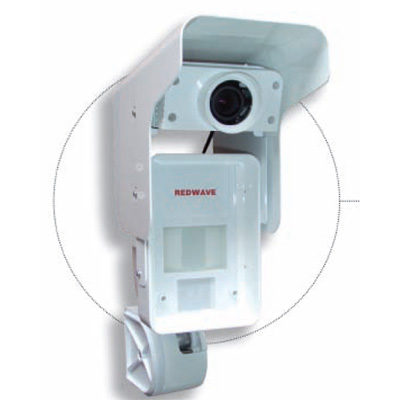 Optex OPM3020CAMDN-C Redwave dual technology detector with day / night camera