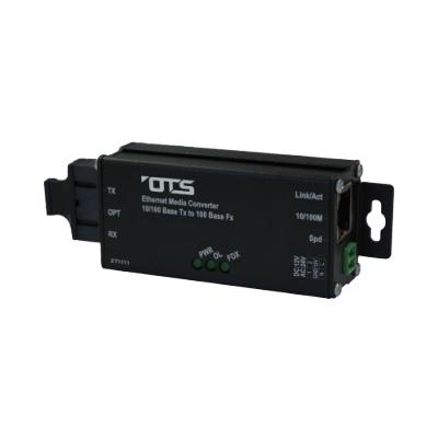 OT Systems ET1111-A-MT industrial Ethernet media converter