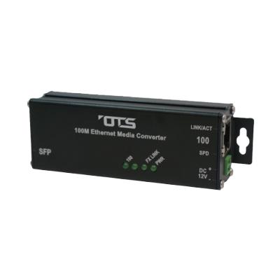 OT Systems ET1111H-S-MT hardened Ethernet media converter