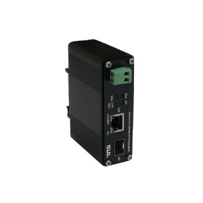 OT Systems ET1111PpH-S-DR Hardened Ethernet Media Converter