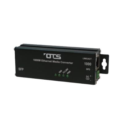 OT Systems ET1212H-S-MT hardened Ethernet media converter