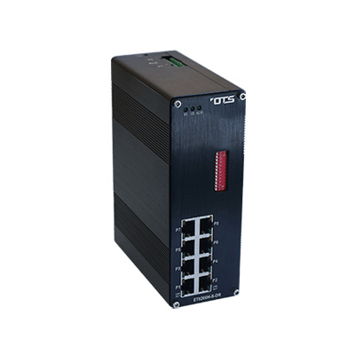OT Systems ET8200PpH-DR Unmanaged Ethernet Switch