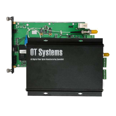 OT Systems FT010CB-SSTR 1 Channel Bi-Directional Contact Closure Transceiver