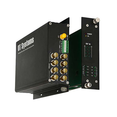 OT Systems FT810AB-SMT 8-channel Video Transmitter/Receiver
