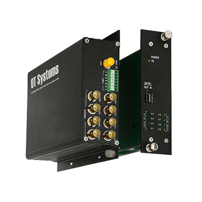 OT Systems FT810DB-SST 8-channel Video Transmitter/Receiver