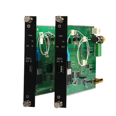 OT Systems FTD110DB-SMT 1-channel Video Transmitter With Bidirectional Data Transceiver