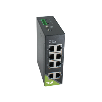 OT Systems IET8200S-DR industrial Smart 8 port Ethernet switch