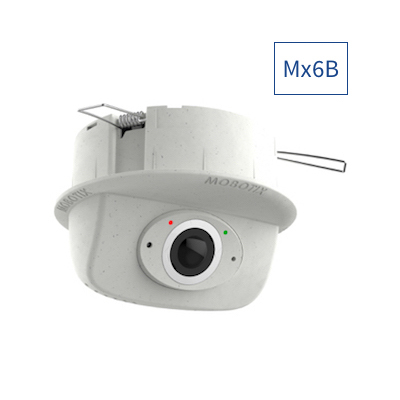 MOBOTIX Mx-p26B-AU-6D016 p26B Complete Cam 6MP, B016, Day, Audio Package