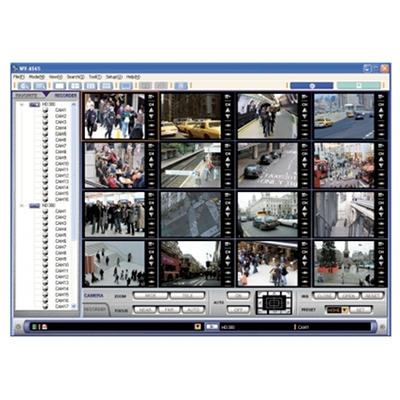 Panasonic AS65 disk recorder management software