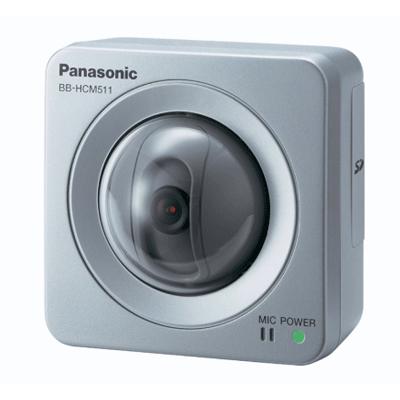 Panasonic BB-HCM511 IP camera with MPEG-4/JPEG monitoring