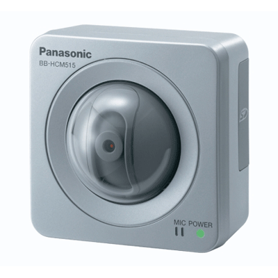 Panasonic BB-HCM515 IP camera with backlight/gray level correction feature