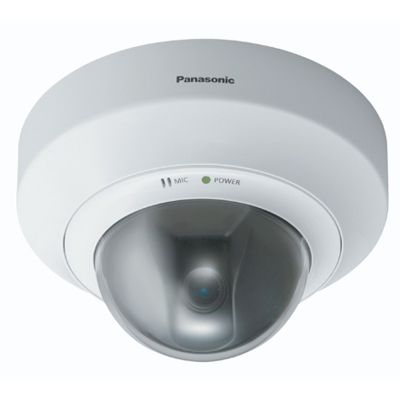 Panasonic BB-HCM527CE network camera with wide angle lens for wider monitoring range
