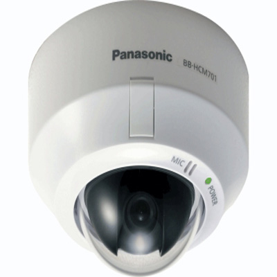 Panasonic BB-HCM701 dome camera with PoE