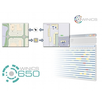 Panasonic WINICS 650 GUI control software with custom mapping and controller integration
