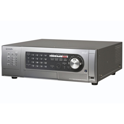 Panasonic WJ-HD616/2TB high picture quality DVR with 16 channels and real-time recording