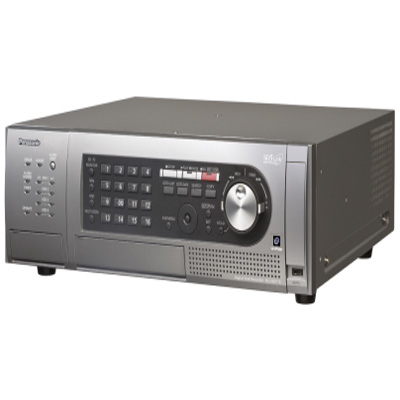 Panasonic WJ-HD716/4TB 16-channel H.264 Digital video recorder with 400 IPS