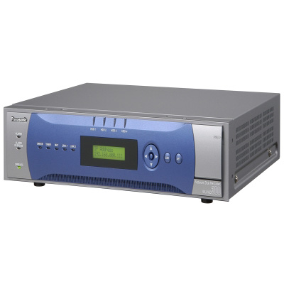 Panasonic WJ-ND300A network video recorder with 32 Ethernet-linked network cameras