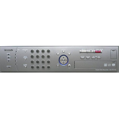 Real-time recording to hard disk and DVD: Panasonic's new WJ-RT416V Digital Video Recorder