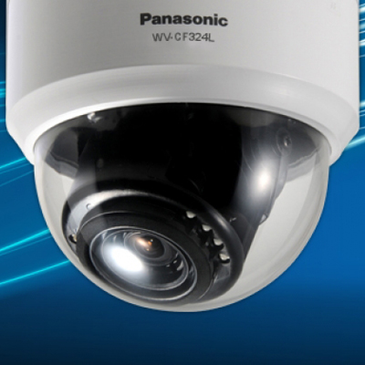 Panasonic WV-CF324L true day/night fixed dome camera with 650TVL resolution