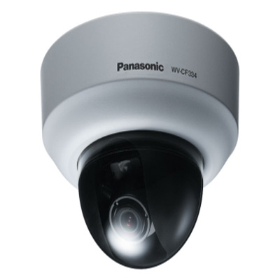 Panasonic WV-CF334 dome camera with adaptive black stretch (ABS)