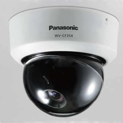Panasonic WV-CF354 internal day / night fixed dome camera