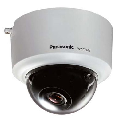 Panasonic WV-CF504 fixed true day / night dome camera with ABS