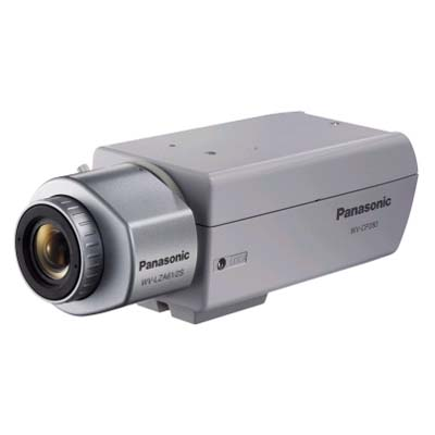 Panasonic WV-CP280 static CCTV camera with 540 TVL