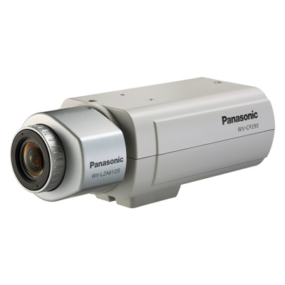Panasonic's new true day/night surveillance camera: the WV-CP290 provides superb image quality for a versatile environment