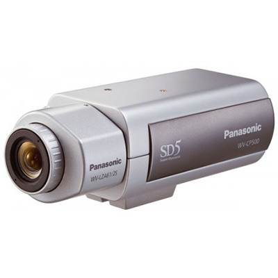 Panasonic WV-CP500/G 650 TV lines day/night camera with ABS