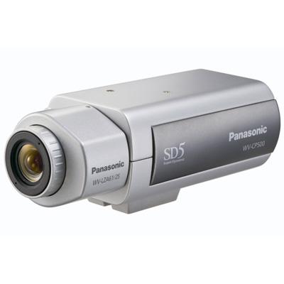 Panasonic WV-CP500 static CCTV camera with 650 TVL
