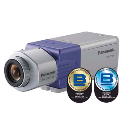 Panasonic WV-CPR484 CCTV camera with 570 TVL