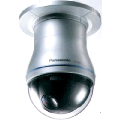 Panasonic WV-CS954 1/4-inch PTZ surface dome camera