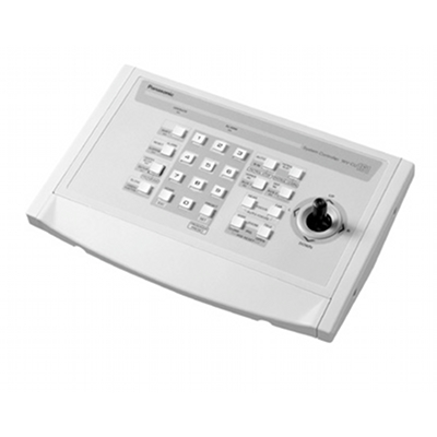 Panasonic WV-CU161C system controller is a single channel controller allows control of Panasonic's CS-range of fully functional cameras through its integrated joystick.