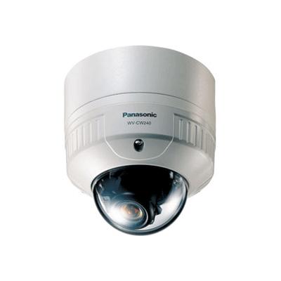 Panasonic WV-CW240 dome camera with 480-line horizontal resolution